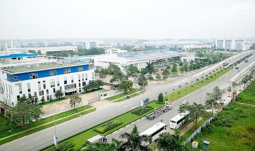 Khu công nghiệp công nghệ cao quận 9